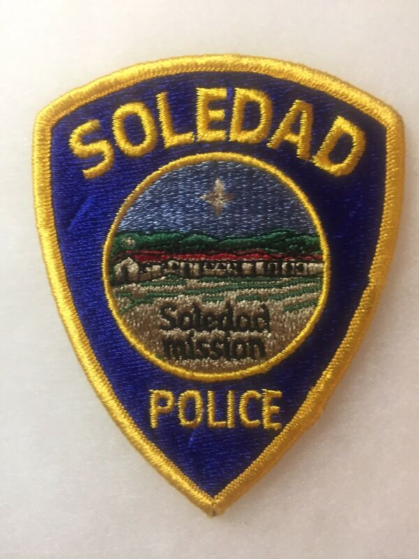 Old Soledad California Police Patch