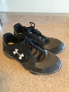 Black Under Armour Running Shoes - $30