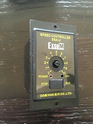 Exce M Esa-ui120x Speed Control Unit - 120w 220240v Ac Motor Speed Control