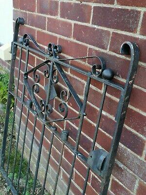Quality Vintage Garden Iron Gate
