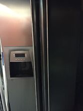 SMEG DOUBLE DOOR STAINLESS STEEEL Refrigerator with water and ice Mosman Mosman Area Preview