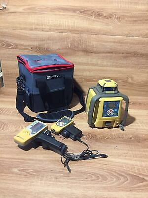 Topcon Rl-sv2s Dual Slope Self Leveling Rotary Grade Laser With Accessories