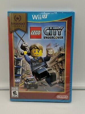 LEGO City Undercover (Nintendo Wii U, 2016) | Factory Sealed | NEW