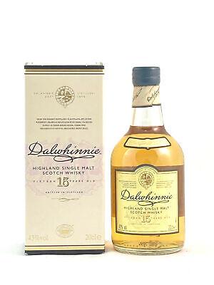 Dalwhinnie 15 Jahre Highland Single Malt Scotch Whisky 0,2l, alc.43 Vol.-%