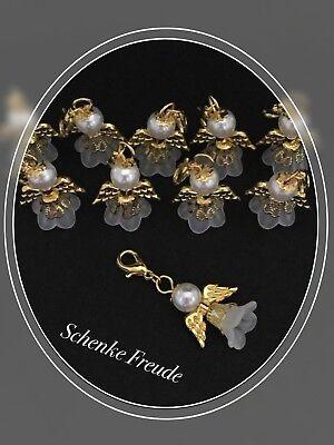 nger Weiß/Gold Kleid, Taufe, Hochzeit, Kommunion, Geburtstag (Weiß Engel Kleid)