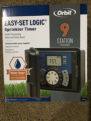 NEW Orbit 27999 9-Station Indoor/Outdoor Irrigation Timer - free shipping