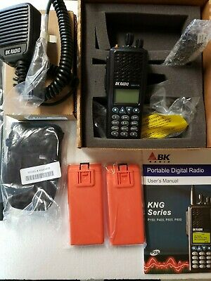 Bk Radio Kng-p150 Portable Radio Digital P25 5000 Ch 6 Watt Vhf Package