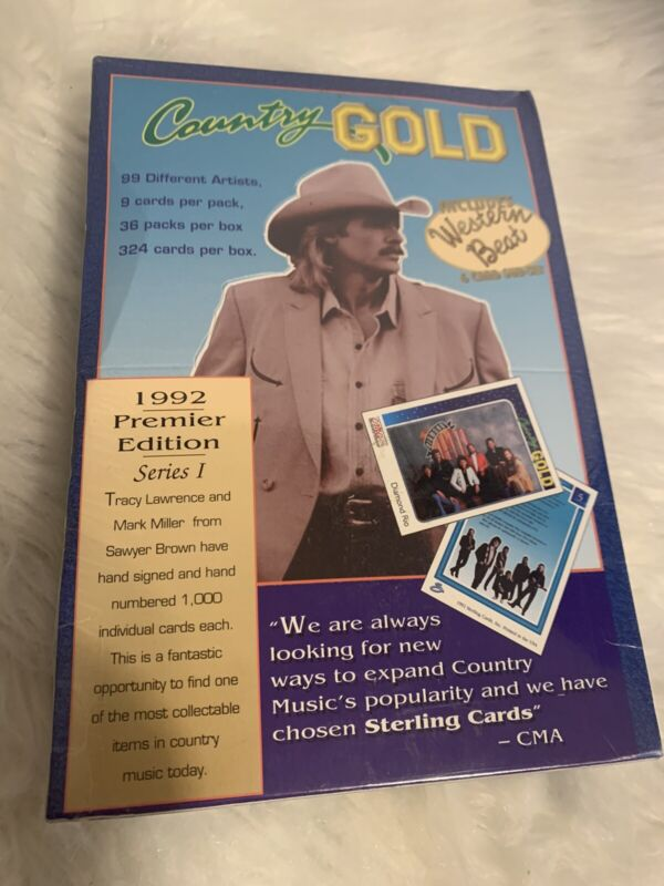 Country Gold 1992 Premier Edition Series 1 CMA 6 Card Sub Set NEW/Sealed
