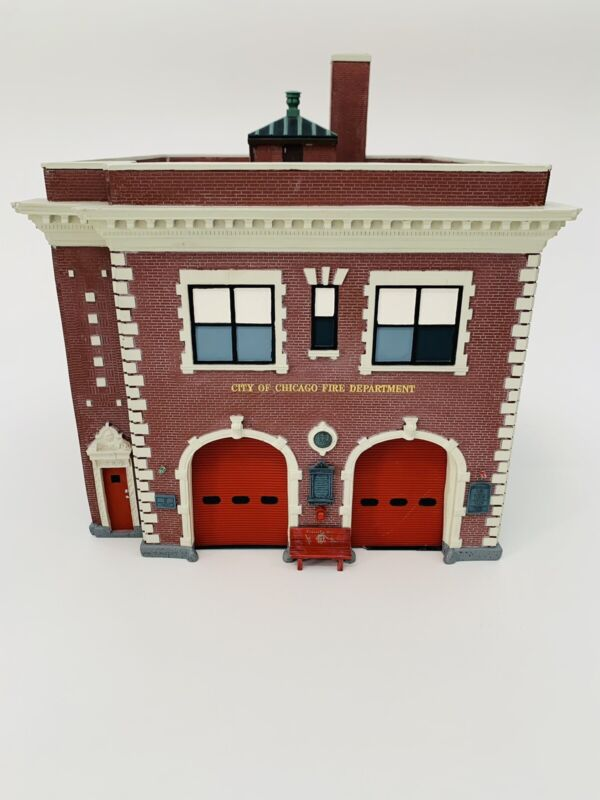 Code 3 Collectibles Chicago Backdraft Firehouse