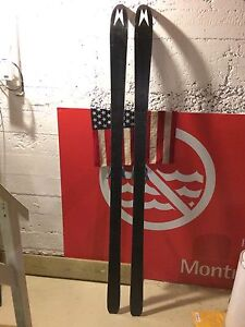 Madshus Epoch 185cm w/ voile telemark bindings and skins !