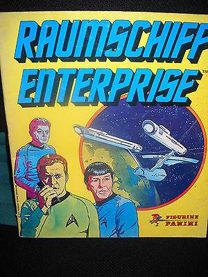 Sammelbilderalbum Raumschiff Enterprise Panini, 145 Fotos drin, gut erhalten