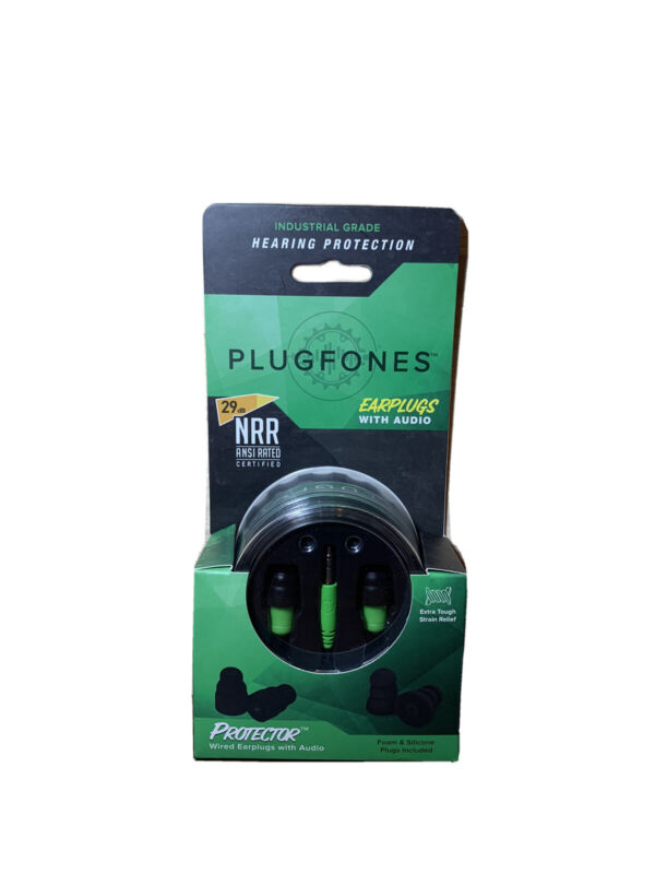 Plugfones Earplugs With Audio