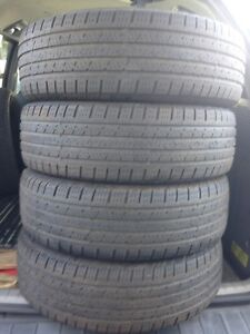4-215/70R16  continental all season