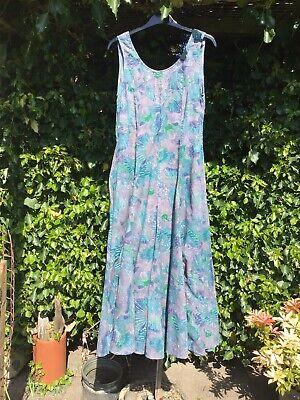 Vintage Phool Indian Cotton Summer Dress Size S