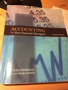 Accounting for Non-financial Managers - fourth edition & Cases