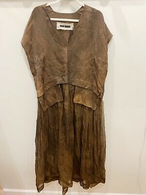 Gorgeous BRAND NEW UMA WANG sheer dress one size!!