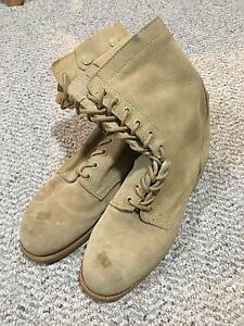 Men's Military Boots Size 10