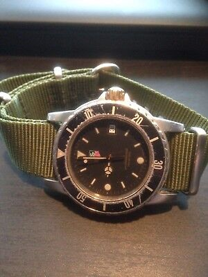 Tag Heuer 1500, professional 200 meters, WD 1220-00 , Men's two tone. Swiss Made