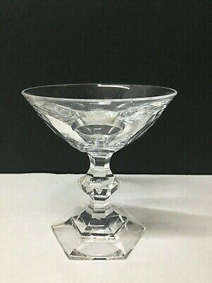 6 coupes à champagne en cristal. METTERNICH cp H:+- 110 mm Val St Lambert