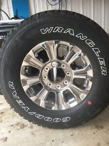Brand new tires and rims Ford F-250 or F 350 north battleford