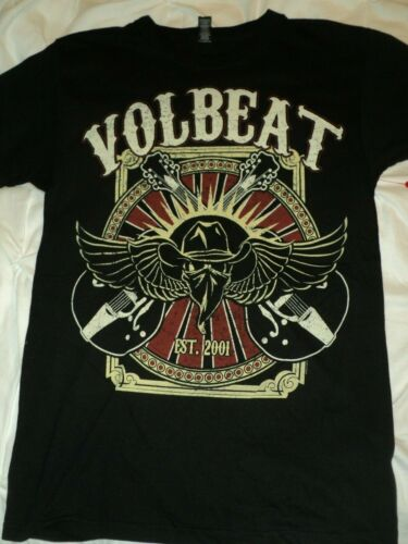 Official Volbeat Rise From Denmark Since 2001 T-Shirt New Heavy Metal Rock Merch