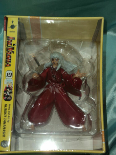 Inuyasha Demon Box Set Exclusive Inuyasha figure & manga *Brand New in Box*