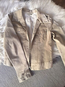 Suede leather jacket small Greenwith Tea Tree Gully Area Preview
