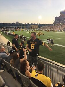 4 Tiger Cats tickets lower price