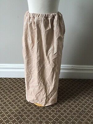 Caroline Bosmans Perforated Skirt 12