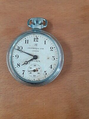 INGERSOLL LTD LONDON TRIUMPH POCKET Watch. Parts