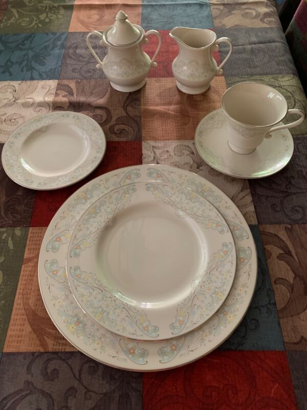 """Pickard China """"Heirloom"""" Pattern - 12 Place Settings of 5 Pieces in Each Setting"""