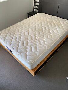 Queen size spring mattress. Physio Firm.