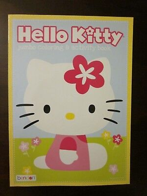 Hello Kitty Coloring Books (Hello Kitty by Sanrio - Jumbo Coloring & Activity Book - Brand)