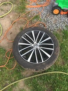 VW Tires & Rims - New Condition