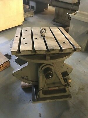 20x20 T Slotted Tilting Rotary Table