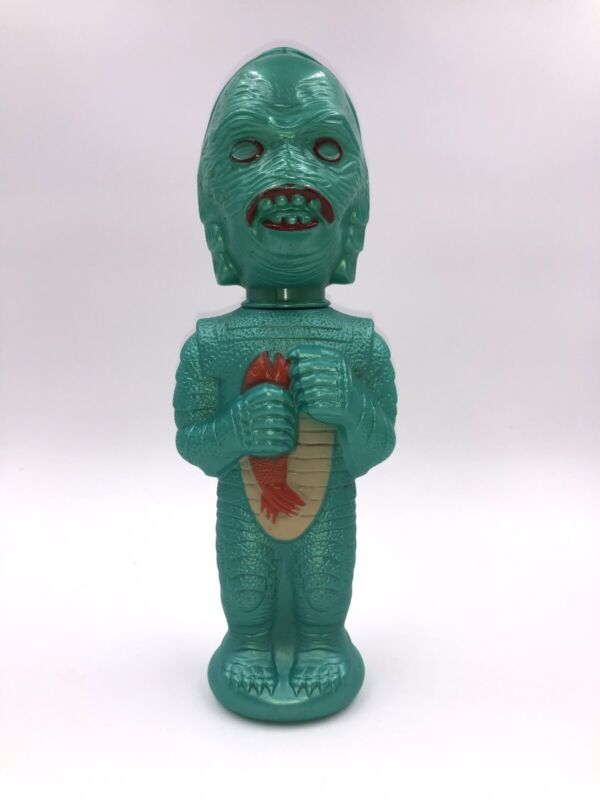 Creature From the Black Lagoon Soaky-Bubble Bath-Bottle-Universal 1960 Vintage