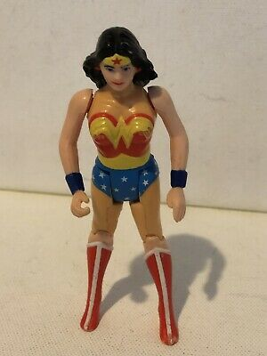Vintage DC Super Powers WONDER WOMAN Kenner Action Figure 1984 Working Action
