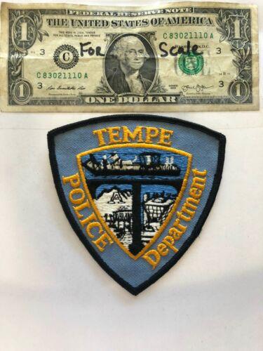 Tempe Arizona Police Dept. patch un-sewn Great condition