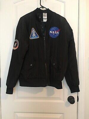 Spirit Halloween NASA Apollo 11 Reversible Jacket Adult Sz M Multicolor Clothes