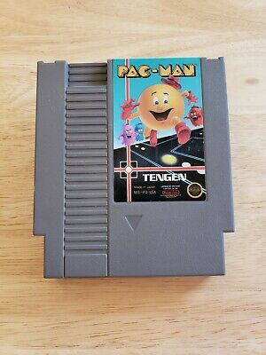 Nintendo - Pac-Man (Tengen) GOOD Condition, Tested & Guaranteed Classic NES Game