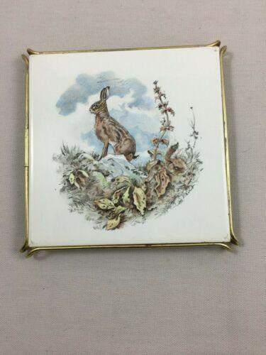Vintage French Trivet Hare Rabbit Villeroy & Boch
