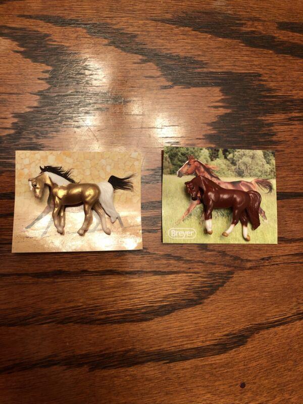 #97260 Breyer Mini Whinnies Horse, Walking Arabian, Vegas , Palomino Gold, Chase