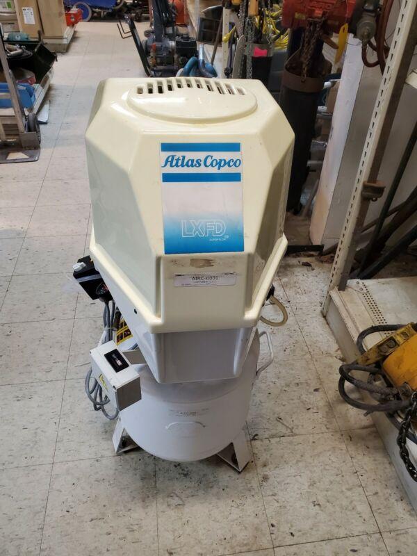 Great Used Dental Air Compressor Unit ATLAS COPCO LFxD Quiet