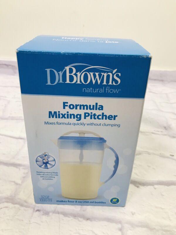 Dr Brown Natural Flow Formula Mixing Pitcher Makes 32 oz