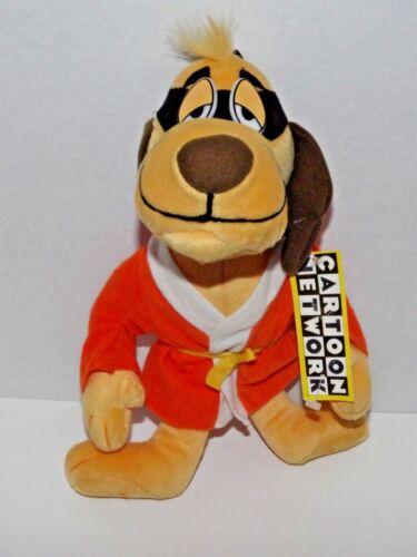 "Hong Kong Phooey Plush Dog Cartoon Network Used With Tags 14"" (h)"