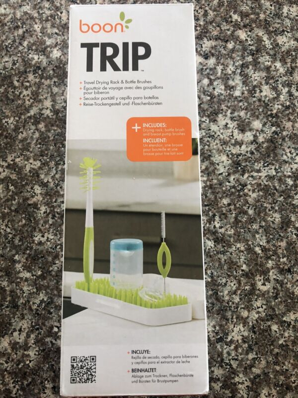 Boon Trip Travel Drying Rack for Baby Bottles and Brushes