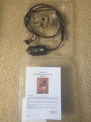Racal Acoustics Frontier 1000 RA5500 / 1020 Headset for Selex Bowman PRR PRC 343