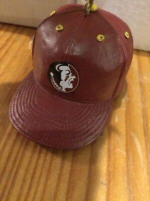 """Florida State University 3"""" MINIATURE BASEBALL CAP   ORNAMENT THE MEMORY CO. - State Baseball Cap Ornament"""