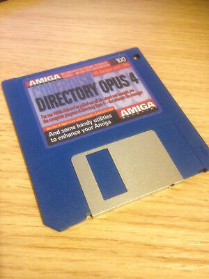 DIRECTORY OPUS (DOPUS) 4.12 FOR COMMODORE AMIGA - NOW WITH PCMCIA / CF0: SUPPORT