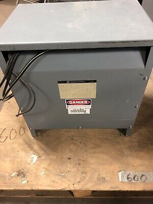 Square D 30t3h Sorgel Three Phase 480 To 208120 Transformer
